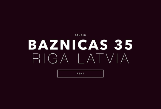 Studio_rent_Baznicas